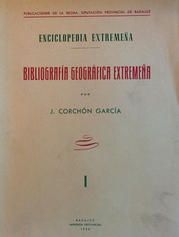 BIBLIOGRAFÍA GEOGRÁFICA EXTREMEÑA