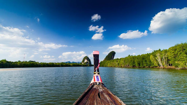 Krabi River Long Tail Boat Ride