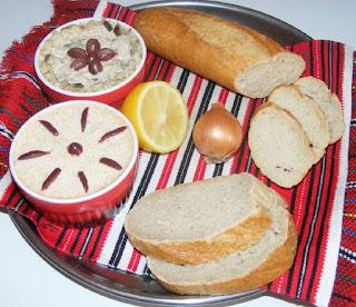 icre, peste, preparate din peste, retete cu peste, retete de mancare, mancaruri romanesti, salata de icre cu peste hering, aperitive, gustari, retete culinare,