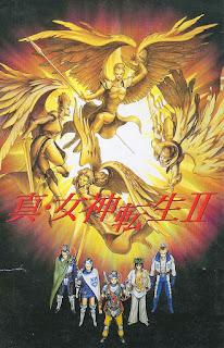 Portada de Shin Megami Tensei II, SNES, 1994, Atlus