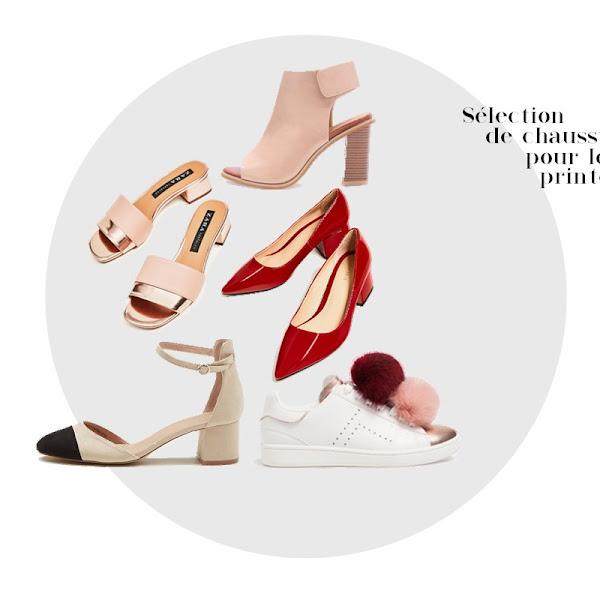 Sélection de chaussures pour profiter du printemps