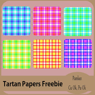 Tartan Papers Freebie