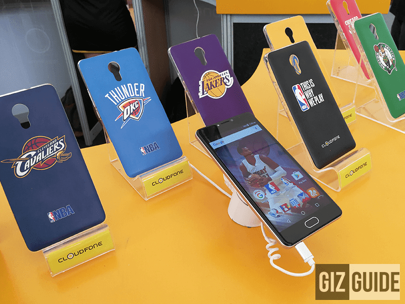 Cloudfone NBA Edition Smartphone Now Official!