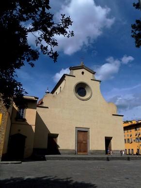 florence toscane oltrarno piazza église santo spirito