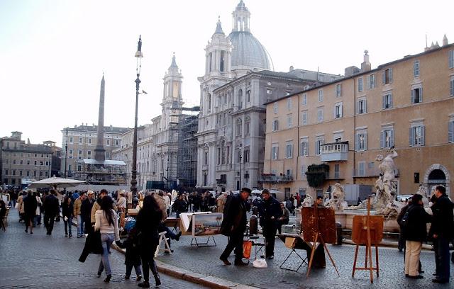 Porque conhecer a Fontana dei Quattro Fiumi em Roma