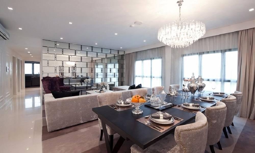 Phòng ăn lux riverview