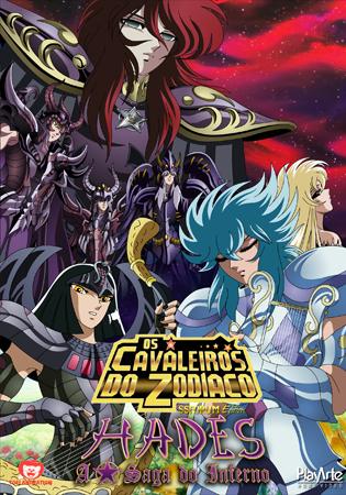 Os Cavaleiros do Zodíaco – Hades: A Saga do Inferno - Todas as Temporadas - Full HD 1080p