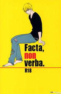 Kuroko no Basuke dj - Facta, Non Verba