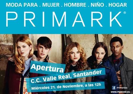 Alto Maliaño La Publicidad De Primark Ubica La Nueva Tienda De Valle Real En Santander En Lugar De En Maliaño