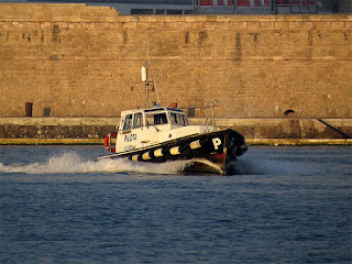 Pilot boat LI 10066, port of Livorno