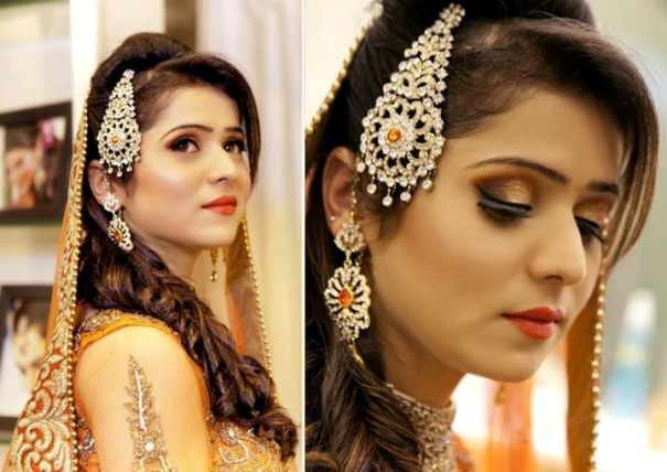 Swell Indian And Pakistani Bridal Hairstyle 2014 News Fashion Styles Short Hairstyles Gunalazisus