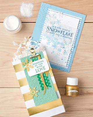 8 Stampin' Up! Beautiful Blizzard projects ~ 2018 Holiday Catalog