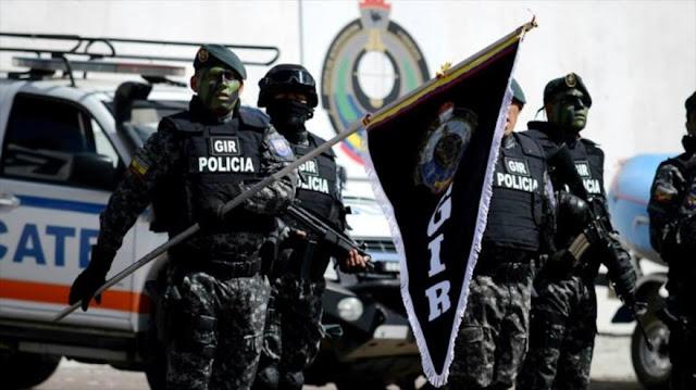 Correa creará en Ecuador un cuerpo como servicio secreto de EEUU