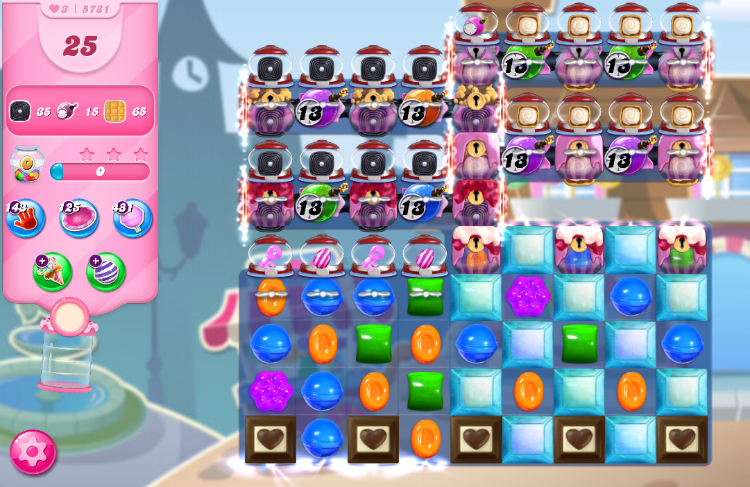 Candy Crush Saga level 5781