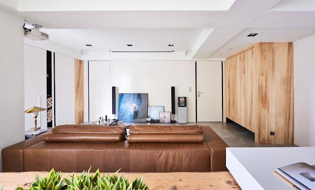 Дизайн-проекты. Светлая и функциональная эко-квартира в Тайчжун