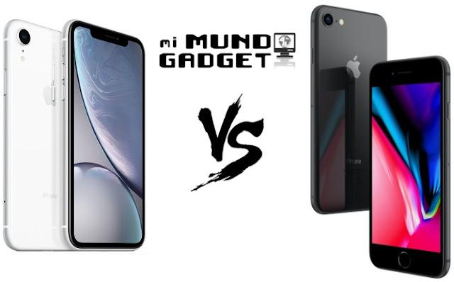 iPhone XR vs iPhone 8: Comparativa