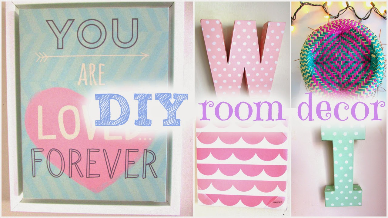 Beauty by genecia diy spring room decor cute cheap for Handmade room decoration items