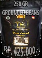 250 gr kopi luwak