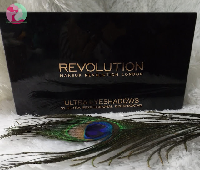 Makeup Revolution Mermaid Forever Eyeshadow Palette review