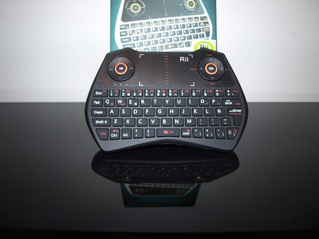 Análise Teclado Rii Mini One i28 7