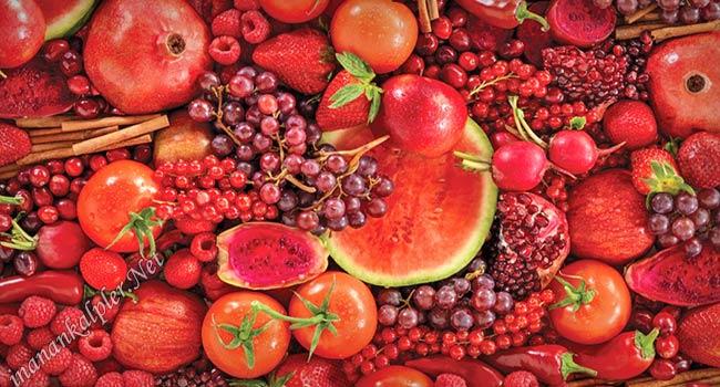 Kırmızı Yiyeceklerin Sağlık İçin Yararları - www.inanankalpler.net