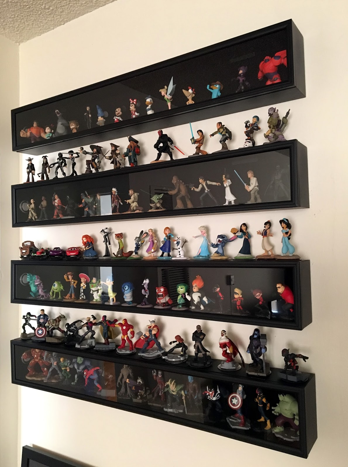 Disney Infinity Figure Display