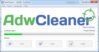 Membasmi Adware di Komputer menggunakan AdwCleaner
