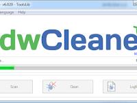Cara membasmi adware di komputer dengan AdwCleaner