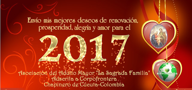 En Enero-2017, se reunirá la Asociación del Aduto Mayor ☼ LA SAGRADA FAMILIA #RSY #OngCF