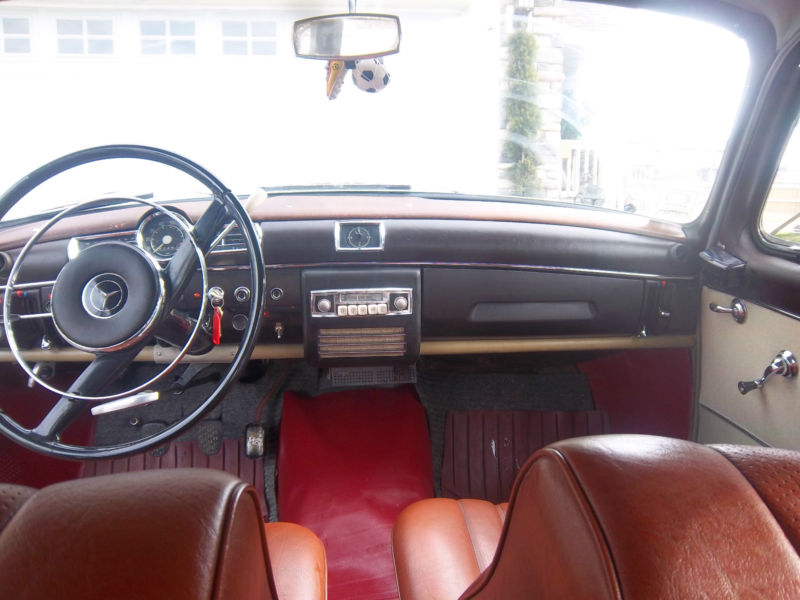 Daily Turismo: 5k: Slow Boat: 1960 Mercedes-Benz 190D W121