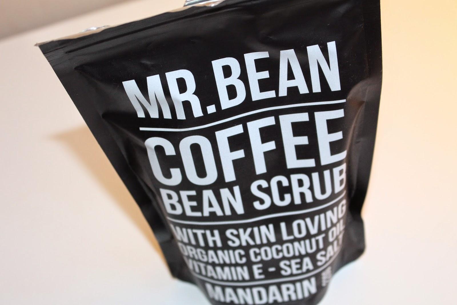 Mr Bean Coffee Scrub Review