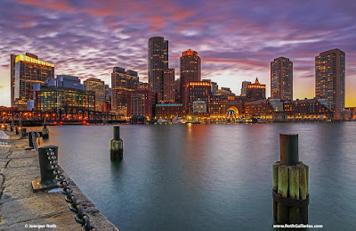 Boston sunsets photos and image licensing