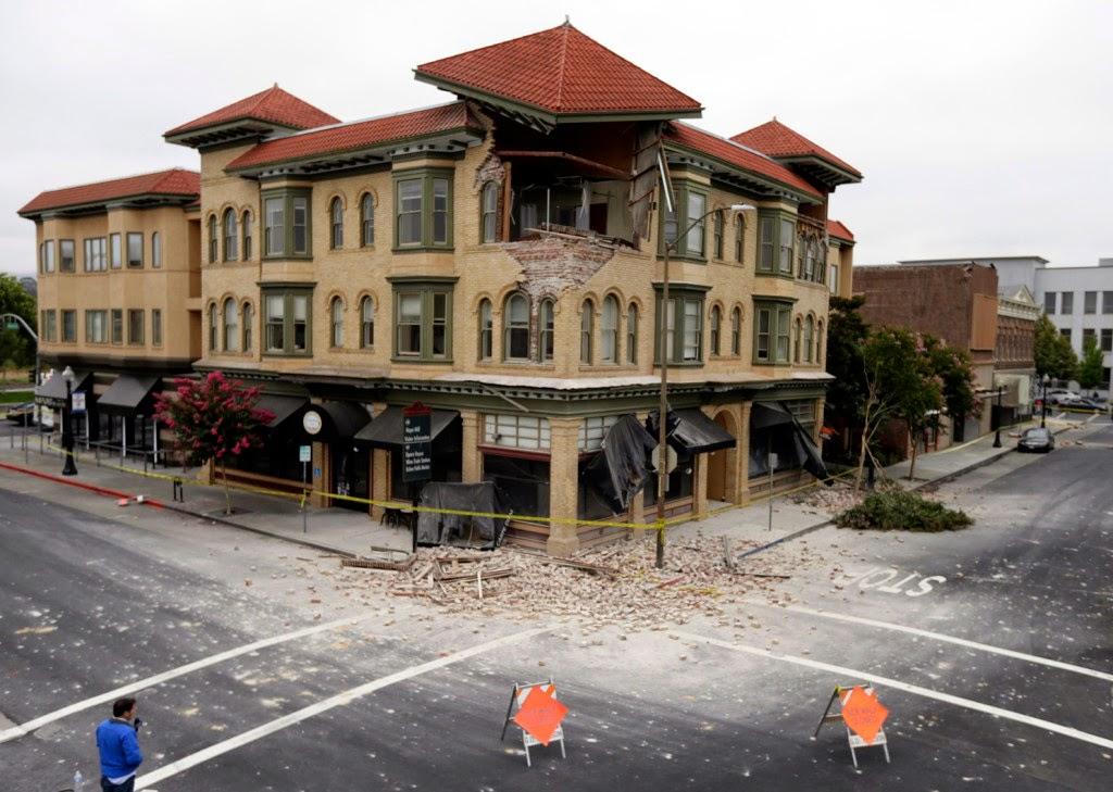 6,0 erősségű földrengés Kaliforniában