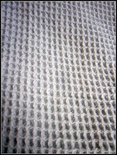 waffle weave fabric
