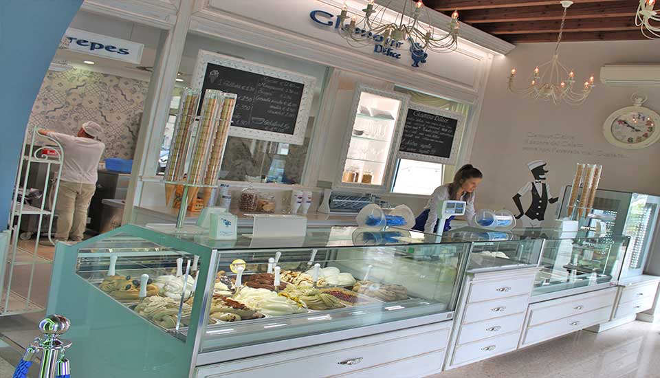 Amato Arredare un bar pasticceria gelateria: Arredamento gelateria  PT19