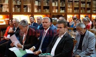 Ηλεία: Τιμήθηκε η προσφορά των Ελβετών πολιτών στην Ανδρίτσαινα