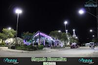 Iluminação especial de Natal