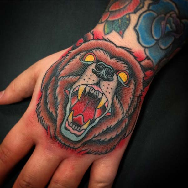el dövmesi ayı modeli