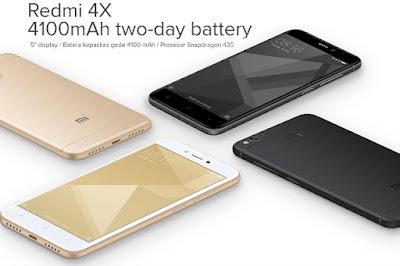 Harga Xiaomi Redmi 4X baru, Harga Xiaomi Redmi 4X second