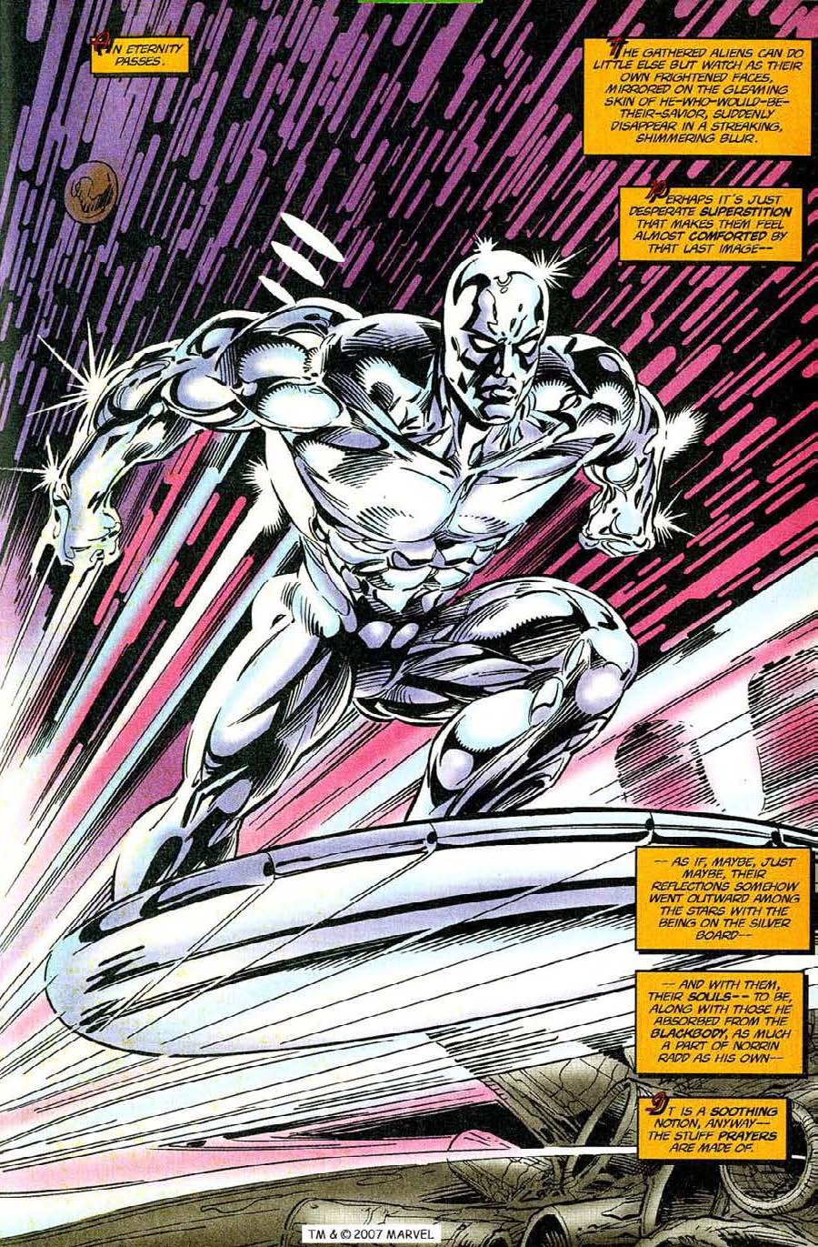 Read online Silver Surfer (1987) comic -  Issue #119 - 21