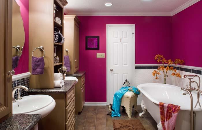 pozitif neşeli banyo tasarımları