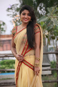 aditi menon new sizzling half saree stills-thumbnail-3