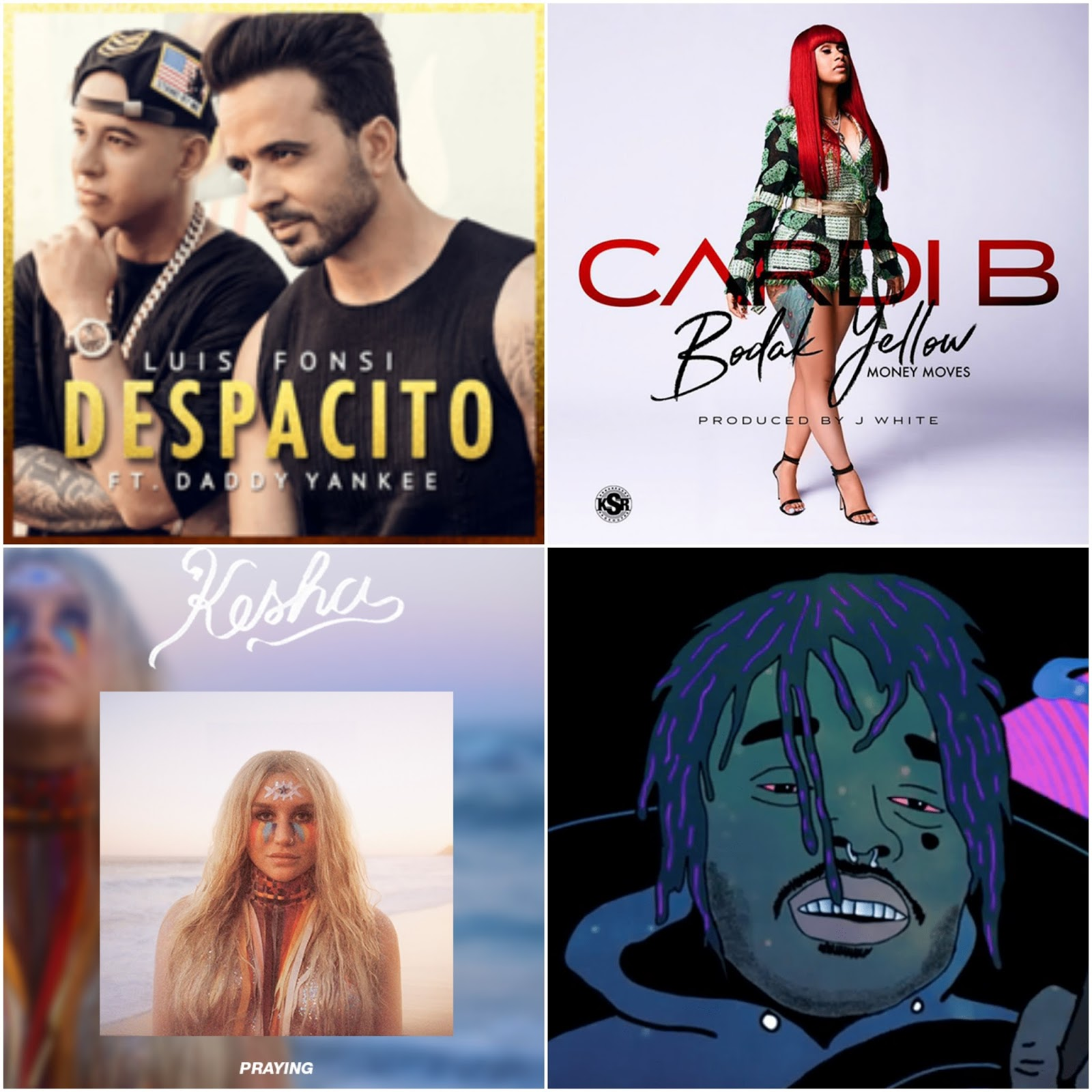 The Top 10 Best Songs of 2017 (Despacito, Bodak Yellow)
