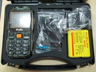 handphone outdoor walkie talkie GoFly E8800 baterai 8800mAh