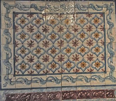 BLOG LUGARES DE MEMÓRIA - Matéria azulejos portugueses  Foto Sylvia Leite