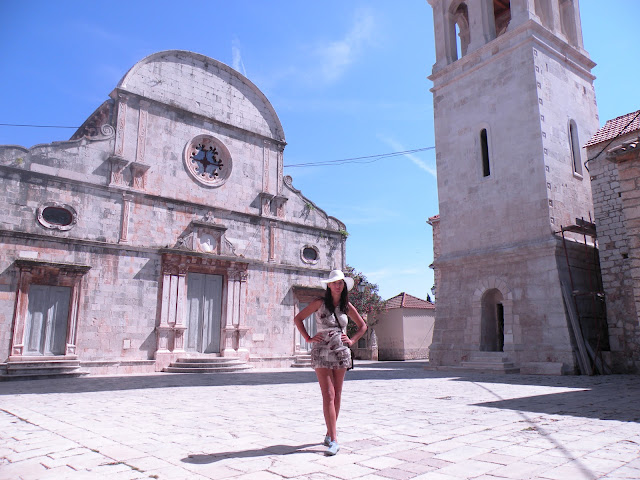 Interesting facts about the church of St. Stephen, located in Starigrad city on island Hvar