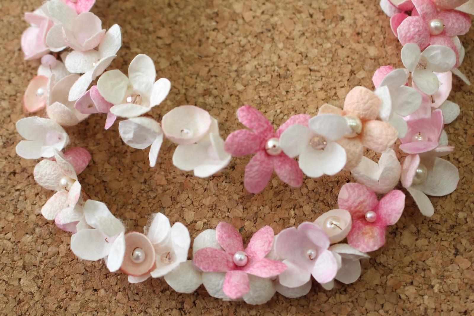 e96521575d8 Στεφανάκια για στολισμό κεφαλιού για παρανυφάκια, για τη νύφη ή το μωράκι  μας στη βάπτισή του.. εδώ σε υπέροχες αποχρώσεις παλ ροζ, ιβουάρ, σομόν!