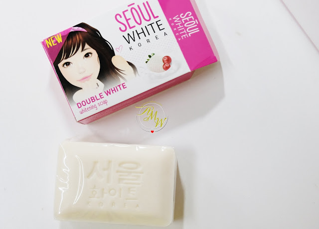 a photo of Seoul White Korea Double white whitening soap and Instant White Tone-Up Whitening Milky Cream review by Nikki Tiu of askmewhats.com