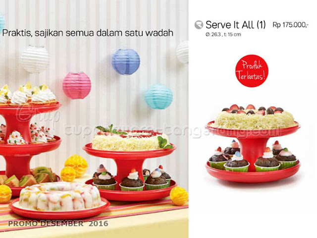 Serve It All Promo Tupperware Desember 2016