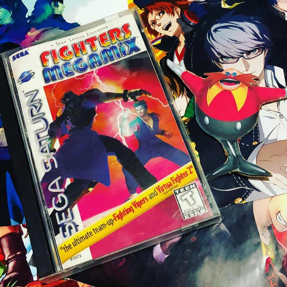 Game-bit of the day 986: Fighters Megamix (Saturn)